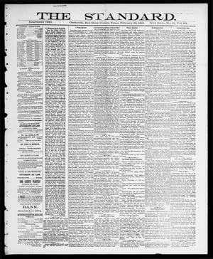 Primary view of object titled 'The Standard (Clarksville, Tex.), Vol. 9, No. 12, Ed. 1 Thursday, February 23, 1888'.