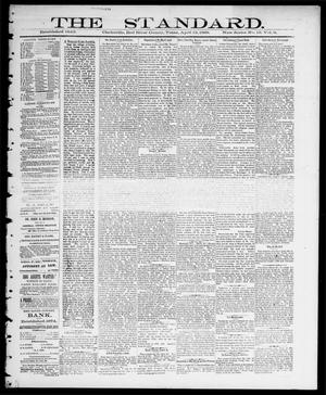 Primary view of object titled 'The Standard (Clarksville, Tex.), Vol. 9, No. 19, Ed. 1 Thursday, April 12, 1888'.