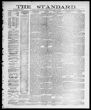 Primary view of object titled 'The Standard (Clarksville, Tex.), Vol. 9, No. 20, Ed. 1 Thursday, April 19, 1888'.