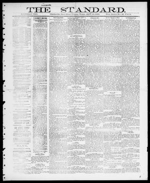 Primary view of object titled 'The Standard (Clarksville, Tex.), Vol. 9, No. 28, Ed. 1 Thursday, May 10, 1888'.
