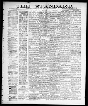 Primary view of object titled 'The Standard (Clarksville, Tex.), Vol. 9, No. 40, Ed. 1 Thursday, August 30, 1888'.