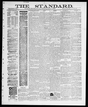Primary view of object titled 'The Standard (Clarksville, Tex.), Vol. 9, No. 41, Ed. 1 Thursday, September 6, 1888'.