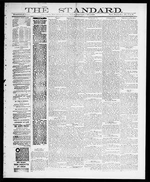 Primary view of object titled 'The Standard (Clarksville, Tex.), Vol. 9, No. 43, Ed. 1 Thursday, September 20, 1888'.