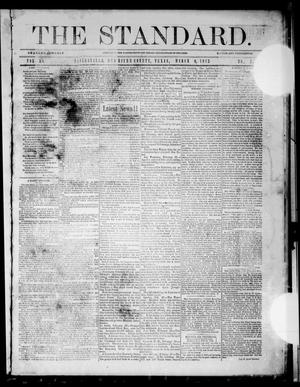 Primary view of object titled 'The Standard (Clarksville, Tex.), Vol. 30, No. 7, Ed. 1 Saturday, March 9, 1872'.