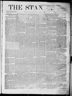 Primary view of object titled 'The Standard (Clarksville, Tex.), Vol. 30, No. 9, Ed. 1 Saturday, March 23, 1872'.