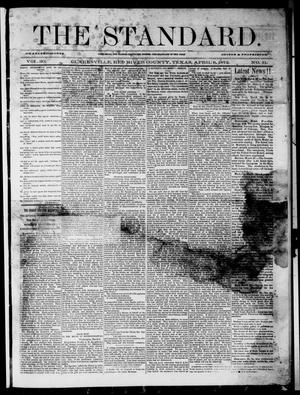 Primary view of object titled 'The Standard (Clarksville, Tex.), Vol. 30, No. 11, Ed. 1 Saturday, April 6, 1872'.
