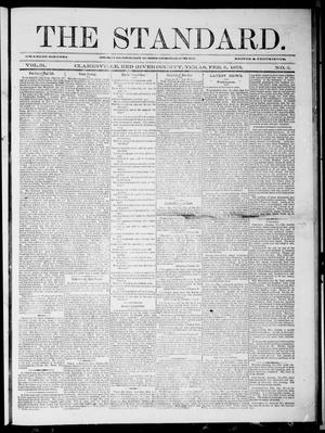 Primary view of object titled 'The Standard (Clarksville, Tex.), Vol. 31, No. 2, Ed. 1 Saturday, February 8, 1873'.