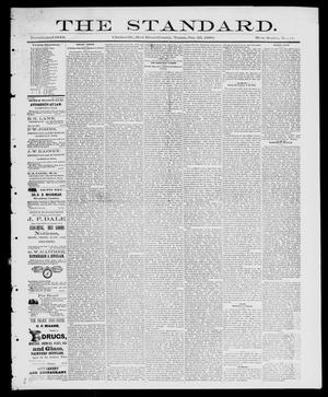 Primary view of object titled 'The Standard (Clarksville, Tex.), Vol. 1, No. 11, Ed. 1 Friday, January 23, 1880'.