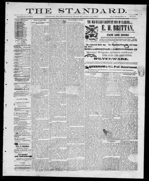 The Standard (Clarksville, Tex.), Vol. 2, No. 3, Ed. 1 Friday, November 19, 1880