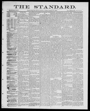 Primary view of object titled 'The Standard (Clarksville, Tex.), Vol. 2, No. 40, Ed. 1 Friday, August 12, 1881'.