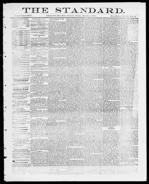Primary view of object titled 'The Standard (Clarksville, Tex.), Vol. 4, No. 17, Ed. 1 Friday, March 2, 1883'.