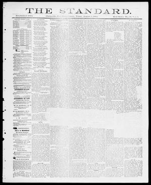 Primary view of object titled 'The Standard (Clarksville, Tex.), Vol. 5, No. 38, Ed. 1 Friday, August 1, 1884'.
