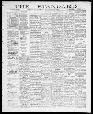 Primary view of The Standard (Clarksville, Tex.), Vol. 6, No. 49, Ed. 1 Friday, October 23, 1885