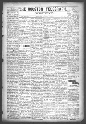 The Houston Telegraph (Houston, Tex.), Vol. 38, No. 36, Ed. 1 Thursday, January 2, 1873