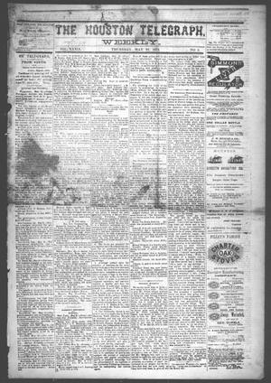 Primary view of The Houston Telegraph (Houston, Tex.), Vol. 39, No. 3, Ed. 1 Thursday, May 22, 1873