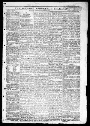 Primary view of object titled 'The Houston Tri-Weekly Telegraph (Houston, Tex.), Vol. 30, No. 163, Ed. 1 Wednesday, November 2, 1864'.