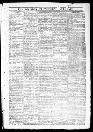 Primary view of object titled 'The Houston Tri-Weekly Telegraph (Houston, Tex.), Vol. 30, No. 170, Ed. 1 Friday, November 18, 1864'.
