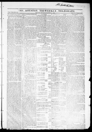 Primary view of object titled 'The Houston Tri-Weekly Telegraph (Houston, Tex.), Vol. 30, No. 172, Ed. 1 Monday, November 21, 1864'.