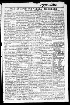 The Houston Tri-Weekly Telegraph (Houston, Tex.), Vol. 30, No. 176, Ed. 1 Wednesday, November 30, 1864