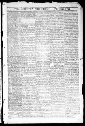 Primary view of object titled 'The Houston Tri-Weekly Telegraph (Houston, Tex.), Vol. 30, No. 182, Ed. 1 Wednesday, December 14, 1864'.