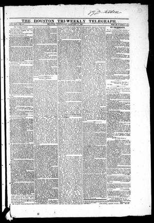 The Houston Tri-Weekly Telegraph (Houston, Tex.), Vol. 30, No. 213, Ed. 1 Wednesday, February 22, 1865