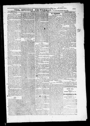 Primary view of object titled 'The Houston Tri-Weekly Telegraph (Houston, Tex.), Vol. 30, No. 144, Ed. 1 Friday, February 24, 1865'.