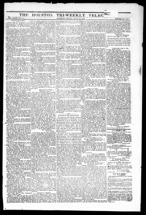 Primary view of The Houston Tri-Weekly Telegraph (Houston, Tex.), Vol. 31, No. 36, Ed. 1 Friday, June 16, 1865