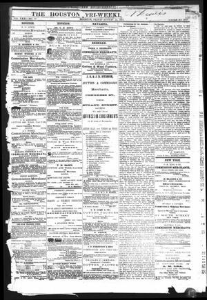 Primary view of object titled 'The Houston Tri-Weekly Telegraph (Houston, Tex.), Vol. 31, No. 69, Ed. 1 Friday, August 25, 1865'.