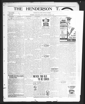 Primary view of object titled 'The Henderson Times.  (Henderson, Tex.), Vol. 41, No. [2], Ed. 1 Thursday, January 11, 1900'.