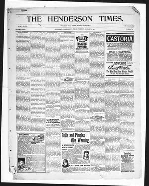 Primary view of object titled 'The Henderson Times.  (Henderson, Tex.), Vol. 41, No. 5, Ed. 1 Thursday, February 1, 1900'.