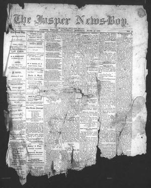 The Jasper News-Boy (Jasper, Tex.), Vol. 6, No. 10, Ed. 1 Saturday, June 10, 1871