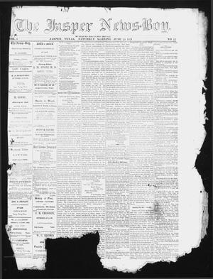The Jasper News-Boy (Jasper, Tex.), Vol. 6, No. 12, Ed. 1 Saturday, June 24, 1871