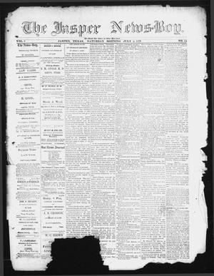 The Jasper News-Boy (Jasper, Tex.), Vol. 6, No. 14, Ed. 1 Saturday, July 8, 1871