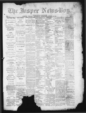 Primary view of object titled 'The Jasper News-Boy (Jasper, Tex.), Vol. 6, No. 19, Ed. 1 Thursday, August 10, 1871'.