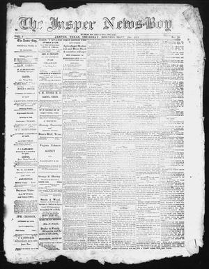 Primary view of object titled 'The Jasper News-Boy (Jasper, Tex.), Vol. 6, No. 25, Ed. 1 Thursday, September 21, 1871'.