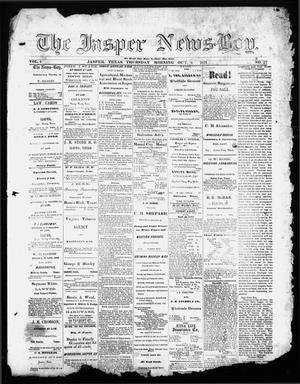 Primary view of object titled 'The Jasper News-Boy (Jasper, Tex.), Vol. 6, No. 27, Ed. 1 Thursday, October 5, 1871'.