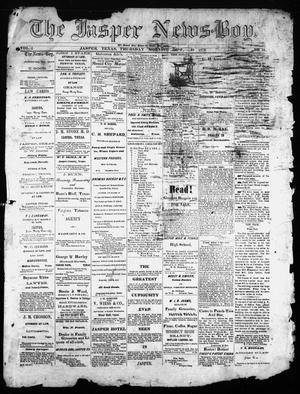 Primary view of object titled 'The Jasper News-Boy (Jasper, Tex.), Vol. 6, No. 29, Ed. 1 Thursday, October 19, 1871'.