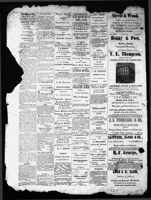 Primary view of object titled 'The Jasper News-Boy (Jasper, Tex.), Vol. [6], No. [35], Ed. 1 Thursday, December 7, 1871'.