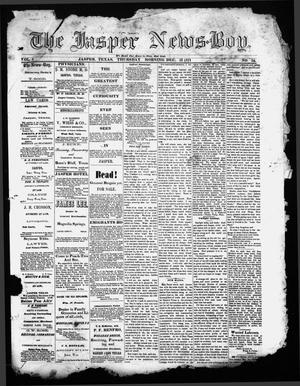 The Jasper News-Boy (Jasper, Tex.), Vol. 6, No. 38, Ed. 1 Thursday, December 21, 1871