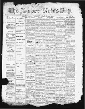 Primary view of object titled 'The Jasper News-Boy (Jasper, Tex.), Vol. 6, No. 41, Ed. 1 Thursday, January 18, 1872'.