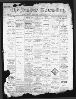 Primary view of The Jasper News-Boy (Jasper, Tex.), Vol. 6, No. 43, Ed. 1 Thursday, February 1, 1872