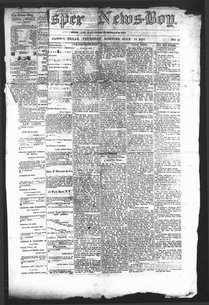 The Jasper News-Boy (Jasper, Tex.), Vol. 7, No. 15, Ed. 1 Thursday, July 18, 1872