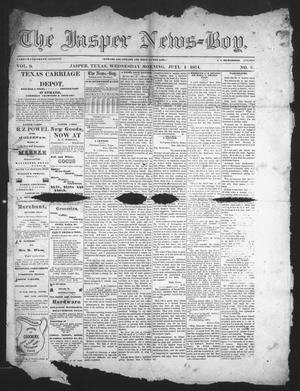 Primary view of The Jasper News-Boy (Jasper, Tex.), Vol. 9, No. 6, Ed. 1 Wednesday, July 1, 1874