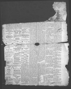 Primary view of object titled 'The Jasper News-Boy (Jasper, Tex.), Vol. [10], No. 31, Ed. 1 Wednesday, December 23, 1874'.
