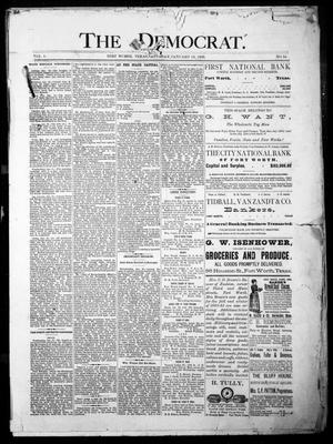 The Democrat. (Fort Worth, Tex.), Vol. 1, No. 54, Ed. 1 Saturday, January 13, 1883