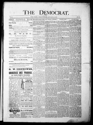 The Democrat. (Fort Worth, Tex.), Vol. 1, No. 56, Ed. 1 Tuesday, January 16, 1883