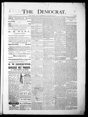 The Democrat. (Fort Worth, Tex.), Vol. 1, No. 62, Ed. 1 Wednesday, January 24, 1883