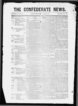Primary view of object titled 'The Confederate News. (Jefferson, Tex.), Vol. 1, No. 6, Ed. 1 Friday, December 2, 1864'.