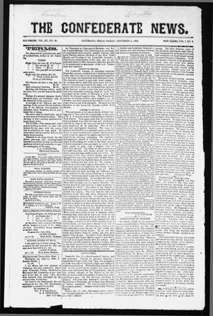 The Confederate News. (Jefferson, Tex.), Vol. 1, No. 2, Ed. 1 Friday, November 4, 1864