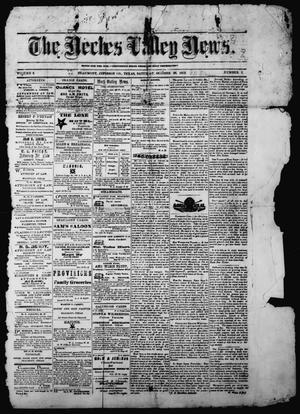 The Neches Valley News (Beaumont, Tex.), Vol. 3, No. 7, Ed. 1 Saturday, October 26, 1872